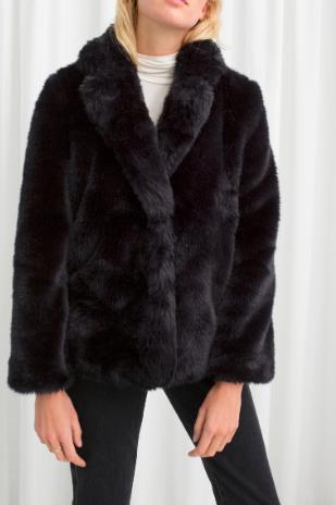 Stories Faux Fur Jacket
