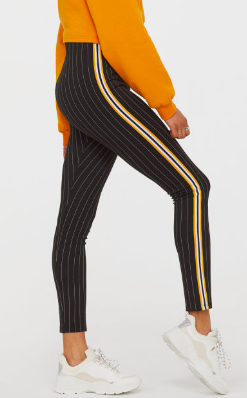 HM Leggings with Side Stripes