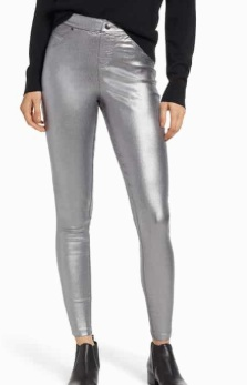 Iridescent Denim Leggings HUE