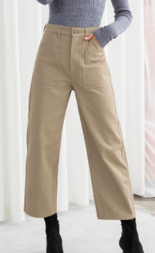 Stories Workwear Culotte Pants