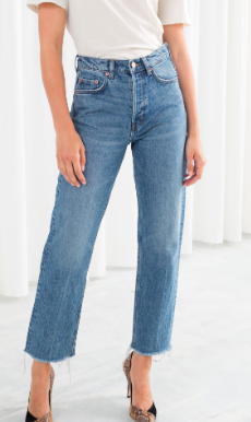 Stories Straight Mid Rise Jeans