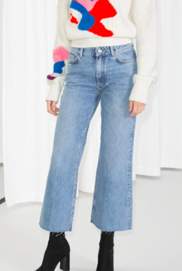 Stories Cropped Flare Jeans