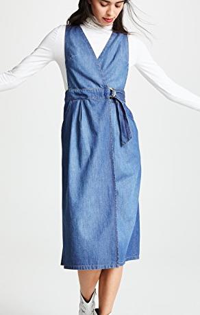 Free People Keeping My Cool Denim Dress