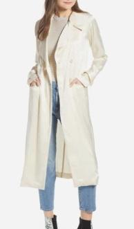 Grand Lapel Coat SOMETHING NAVY