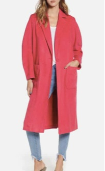 Single Button Long Jacket LEITH