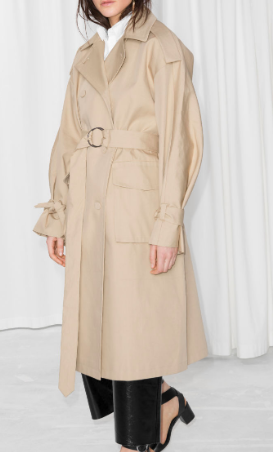 Stories Oversized Trench Coat