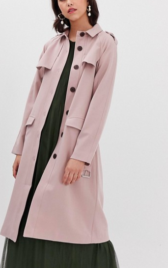 Y.A.S Belted Trench