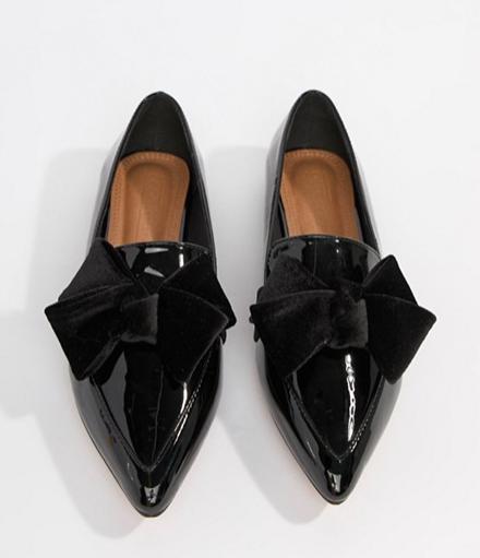 ASOS DESIGN Ludo ballet flats loafers