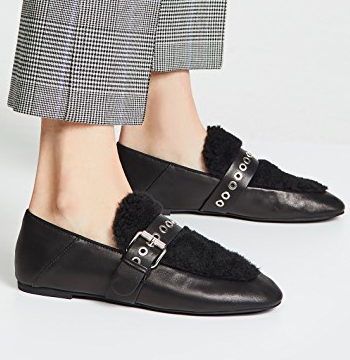 Sol Sana Shela Faux Shearling Loafers
