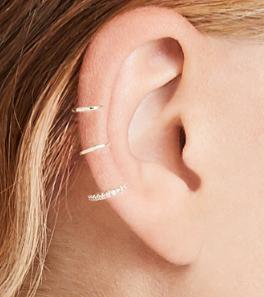 Shashi Mercy Ear Cuff