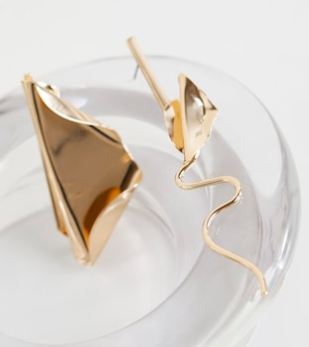 Mango Asymetric earrings