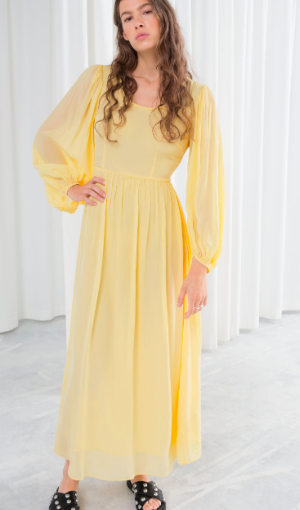 Stories Billowy Prairie Maxi Dress