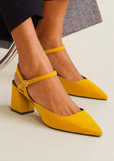 Mango Slingback heel shoes
