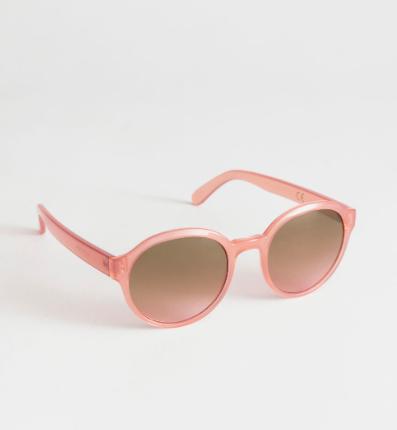 Stories Round Frame Sunglasses
