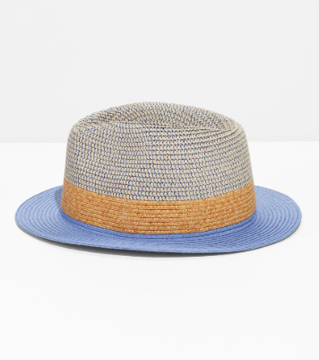 Stories Straw Fedora Hat