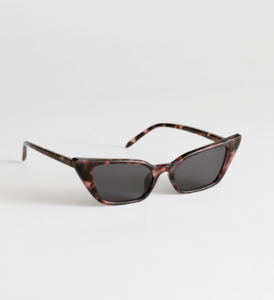 Stories Slim Cat Eye Sunglasses