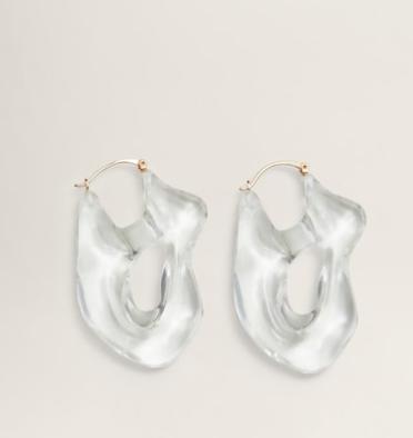 Mango Transparent earings