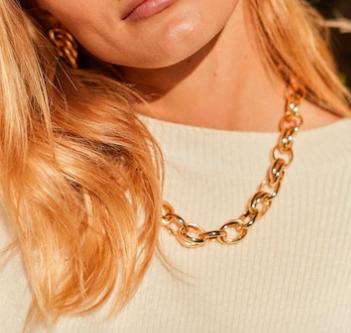Mango Link necklace