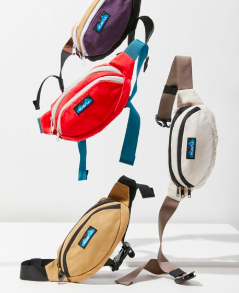 KAVU UO Exclusive Canvas Spectator Belt Bag