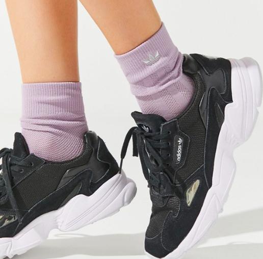 adidas Originals Mesh 3-Stripe Crew Sock