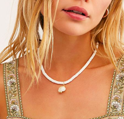 FP Surf Pendant Necklace