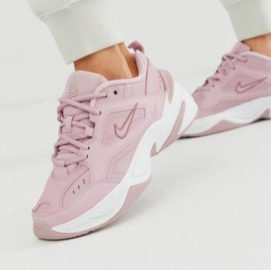 Nike M2K Tekno sneakers in pink