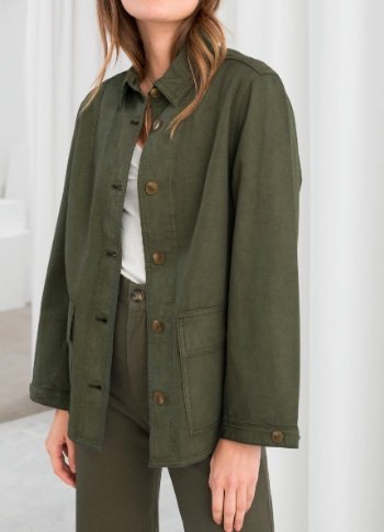Organic Cotton Denim Workwear Jacket