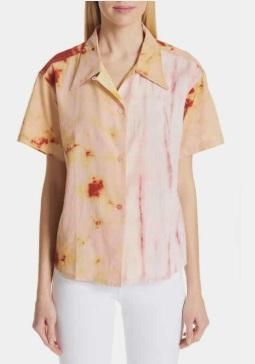 STORY MFG Shorty Tie Dye Cotton Shirt