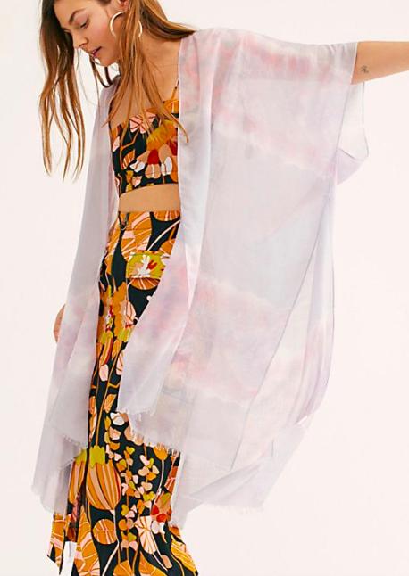 FP Gravity Tie Dye Kimono