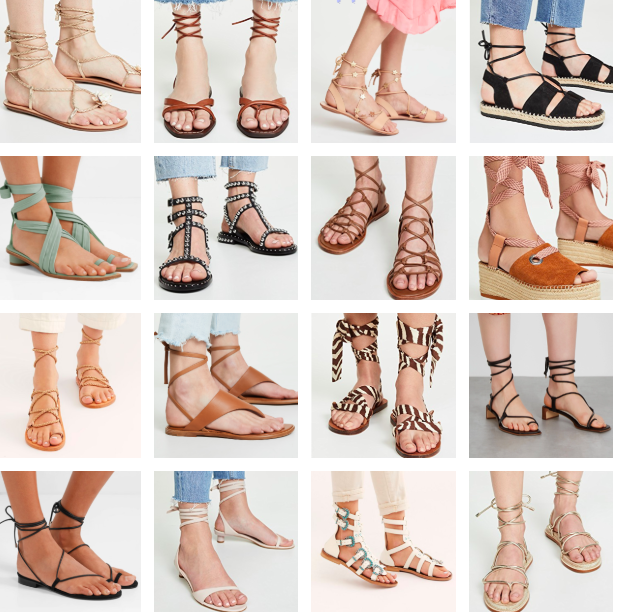 Lace-Up Sandals: 48 Picks   Truffles
