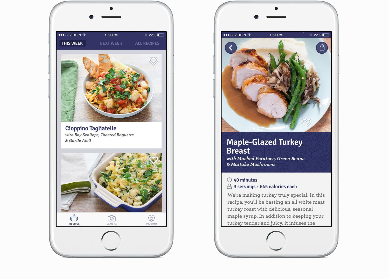 Blue apron app - 01 Jpg