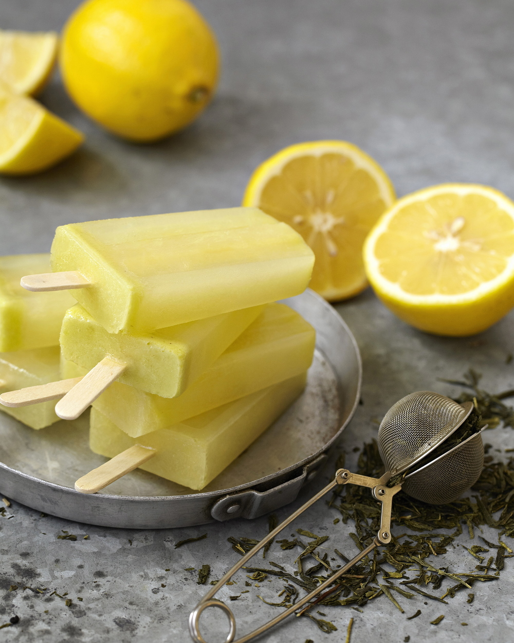 Earl Grey juice pops.