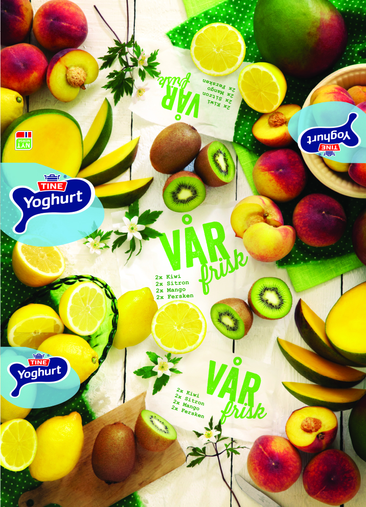 TINE yoghurt-spring.