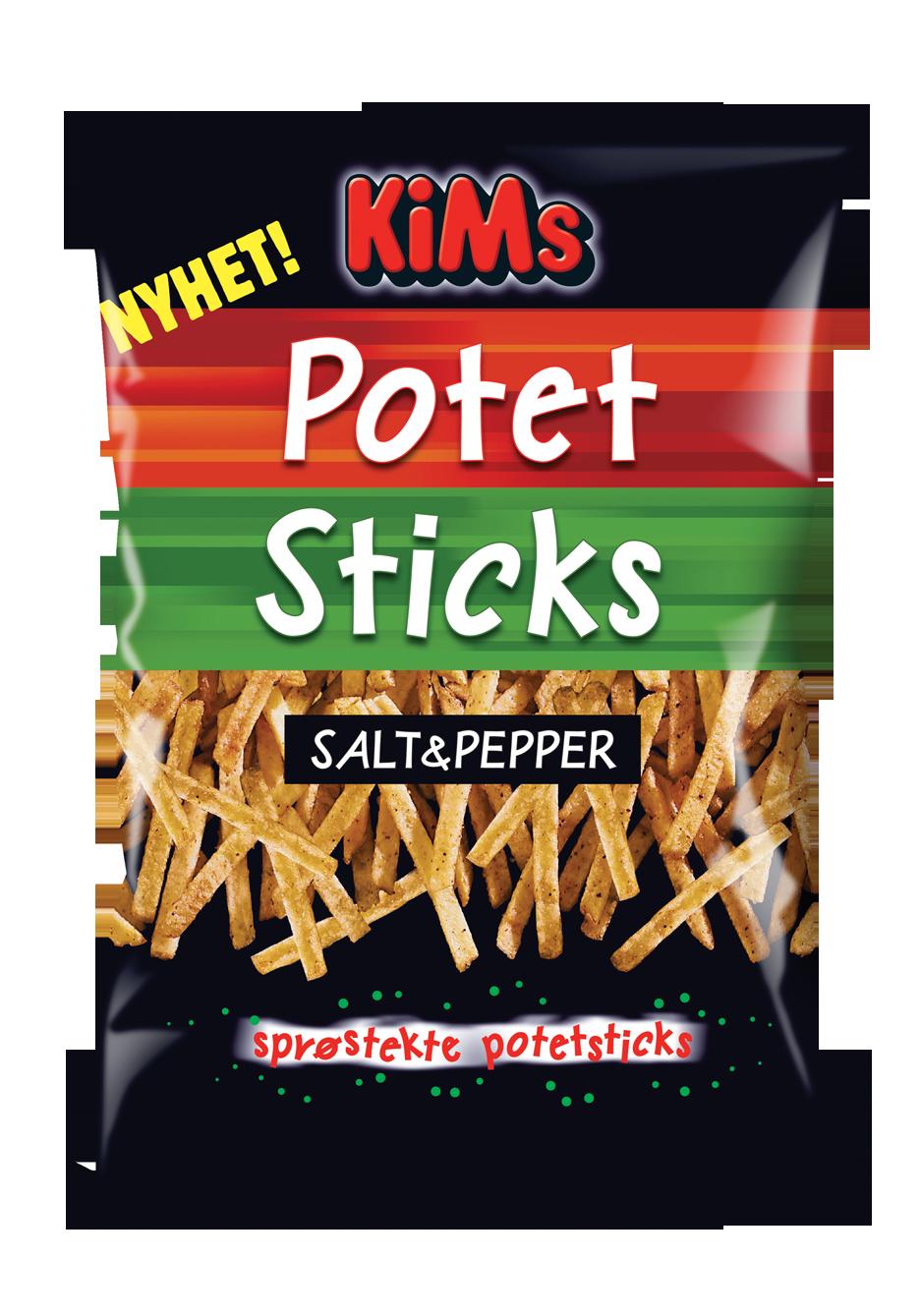 KIMS Potetsticks salt&pepper