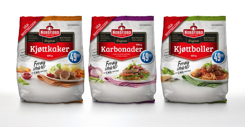 Packaging, Nordfjord kjøtt.