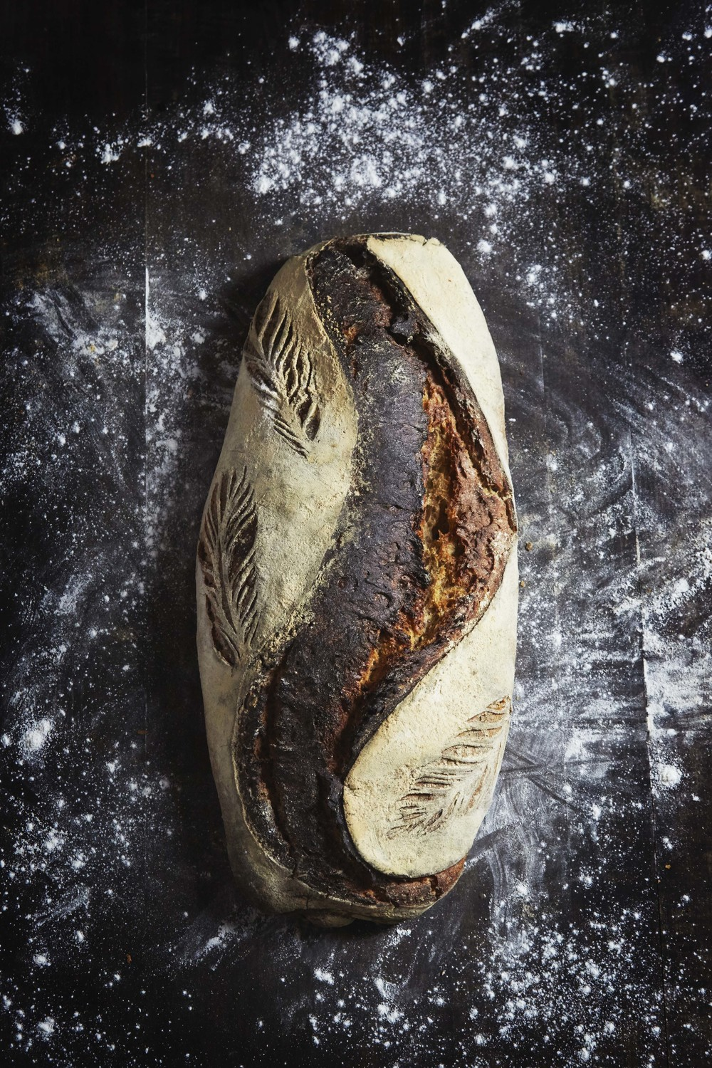 Kegel bread from Handwerk, editorial for Matmagasinet NORD.