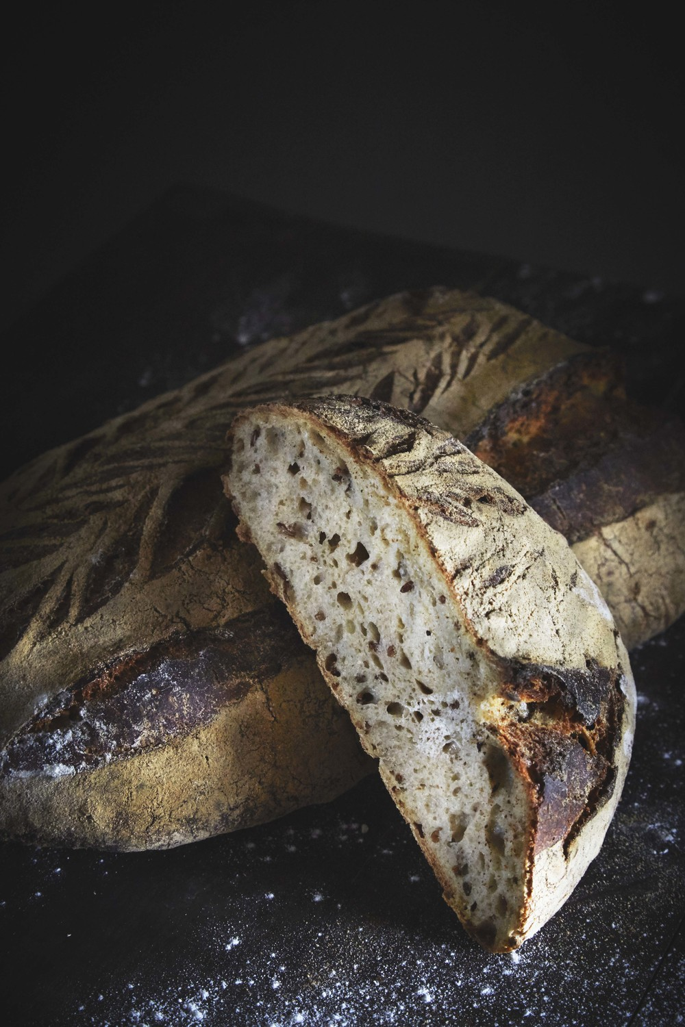 Rye bread from Handwerk, editorial for Matmagasinet NORD.