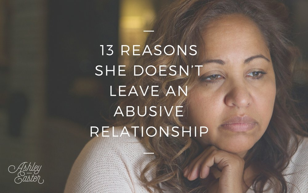 why is it difficult to leave an abusive relationship