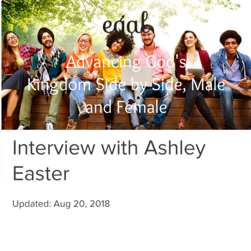 Interview with Ashley Easter