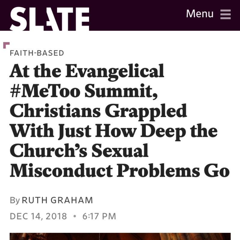 At the Evangelical #MeToo Summit, Christians Grappled With Just How Deep the Church's Sexual Misconduct Problems Go