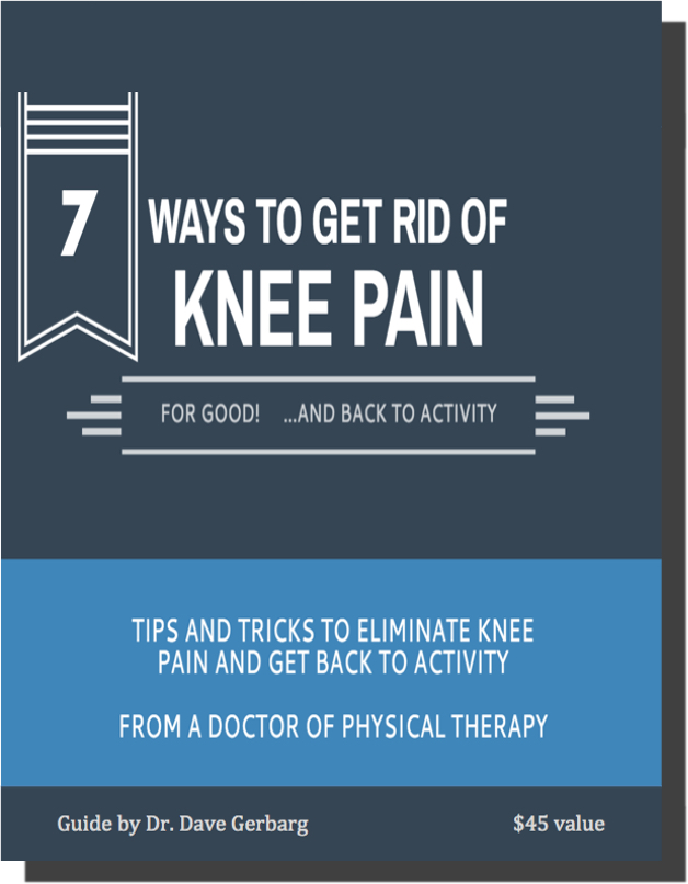 Tricks to find relief from knee pain from physiotherapy expert Dr Dave Gerbarg