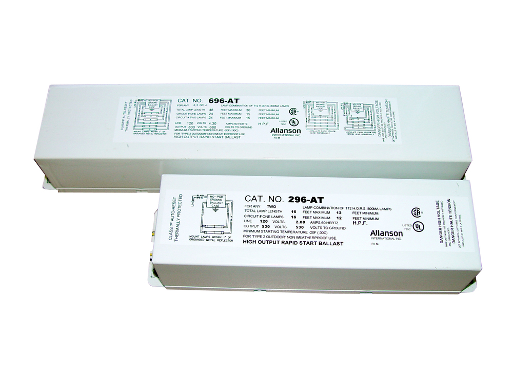 Ballasts  U2014 H  H  Zimmern Sign Supply  Inc