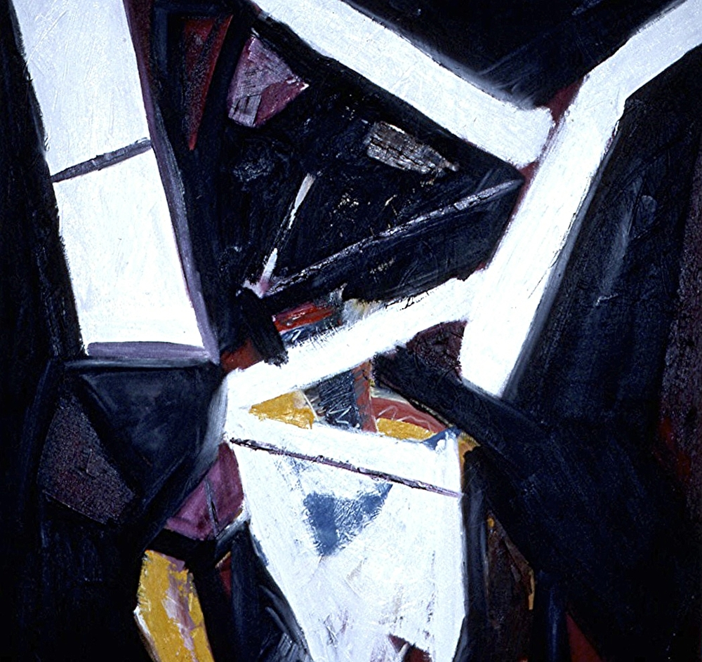oil on canvas 36 in. x 36 in.  1984