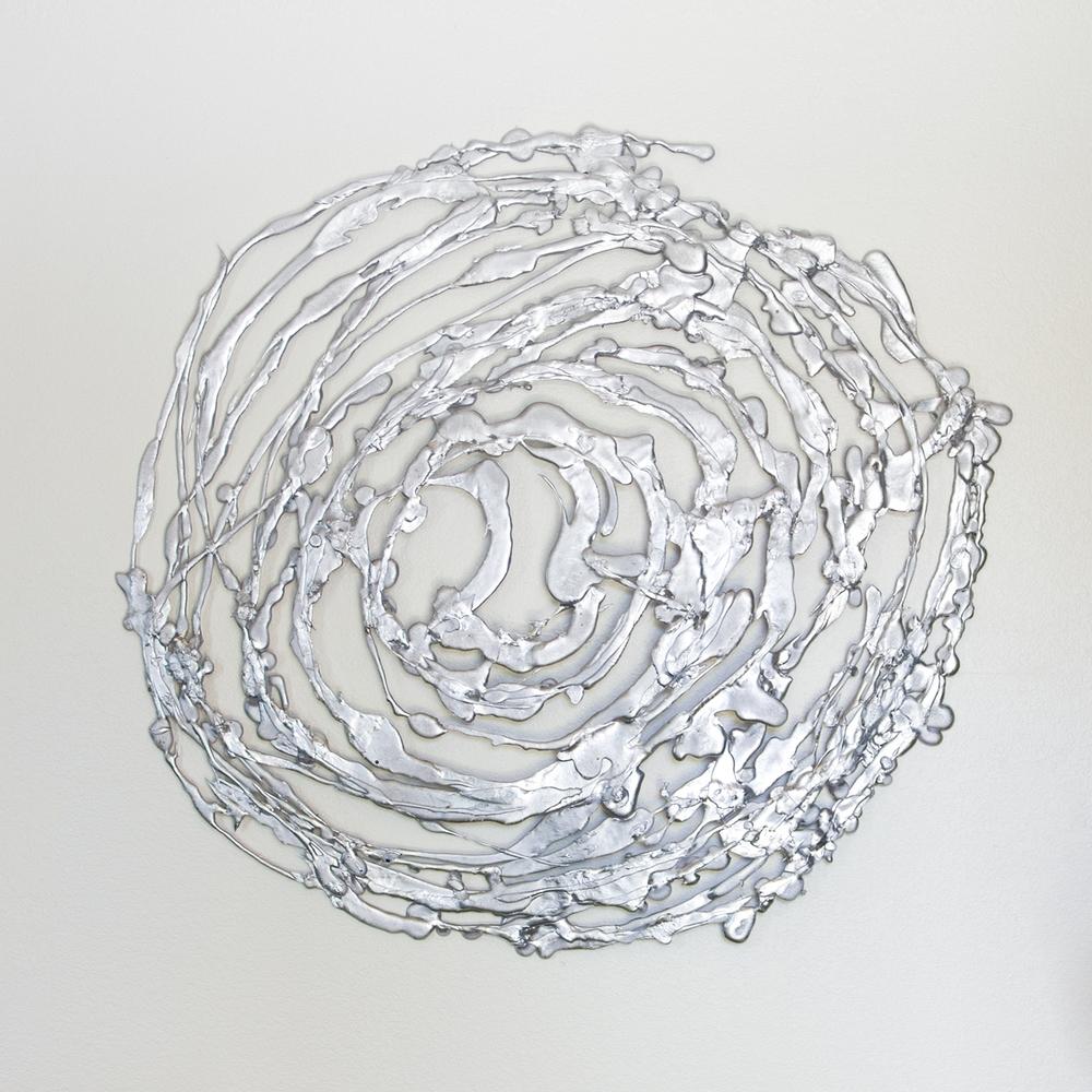 Vortex- Recycled Aluminum -4' x 4'