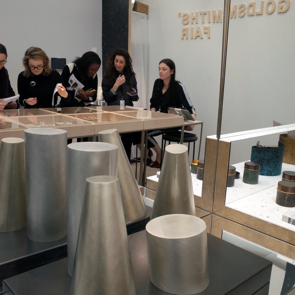 Goldsmiths Fair stand, Juliette Bigley