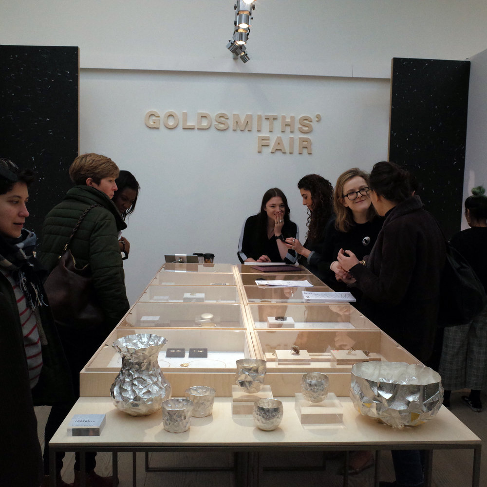Goldsmiths Fair stand