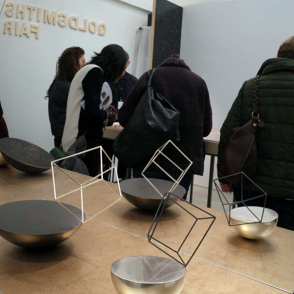 Goldsmiths Fair stand, Ane Christensen