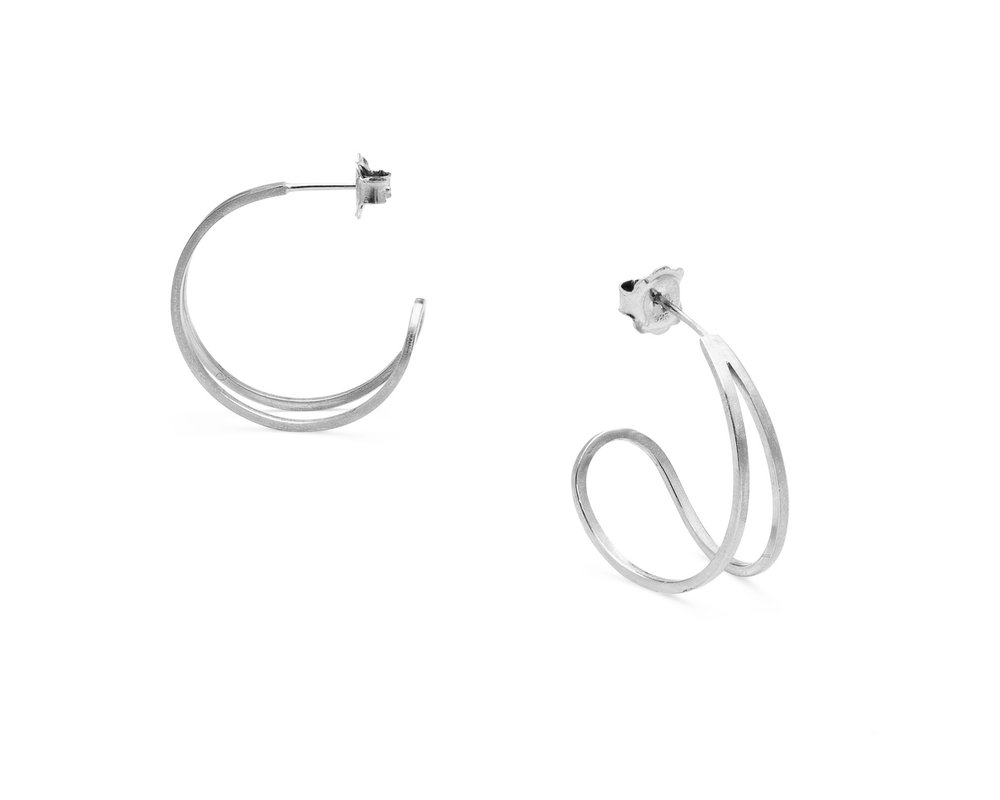 Teardrop hoop earrings by Heather Woof Jewellery.jpg