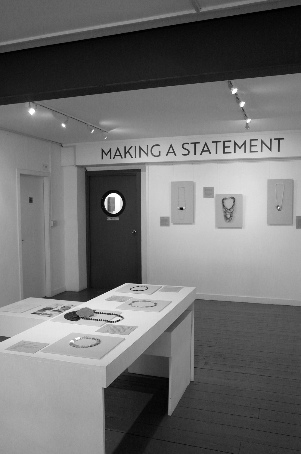 Making a Statement Exhibition