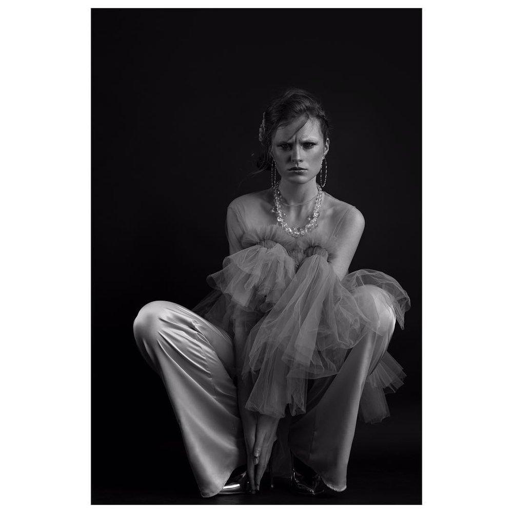 bellanude_ft. Mega Hoops by Heather Woof Jewellery